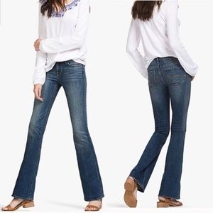 Lucky Brand Midrise flare blue jeans 29